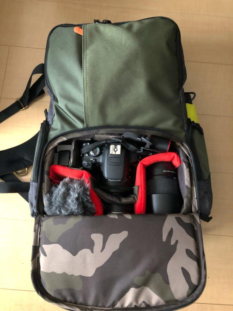 マンフロットのカメラバッグの画像