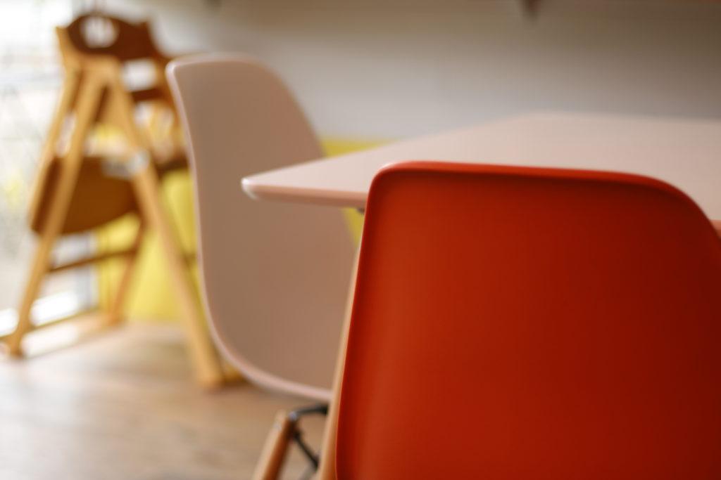 ベジトリップの椅子