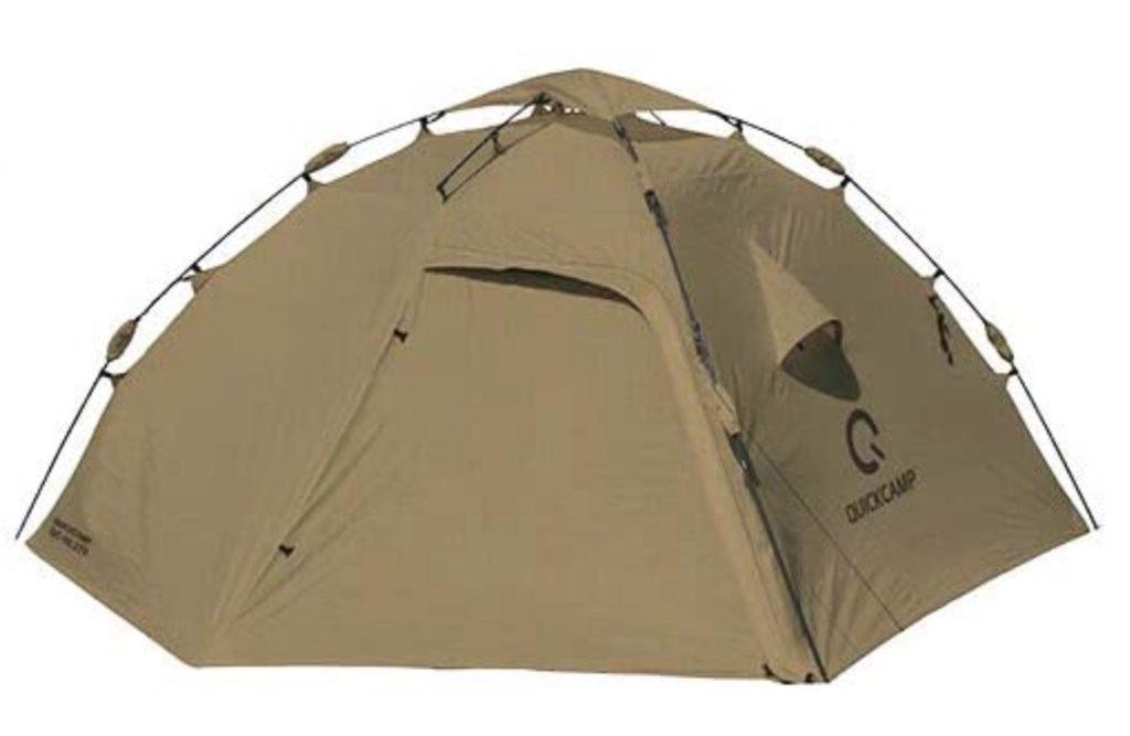 クイックキャンプダブルウォールドームテントの画像