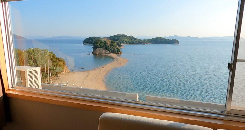 小豆島国際ホテルからの風景
