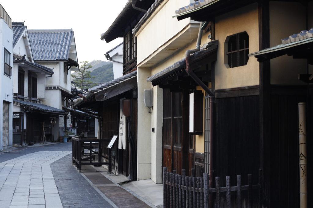 竹原の街並みの画像