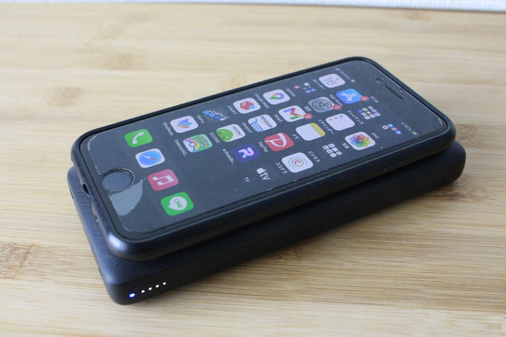 PowerCore3でiPhoneを充電