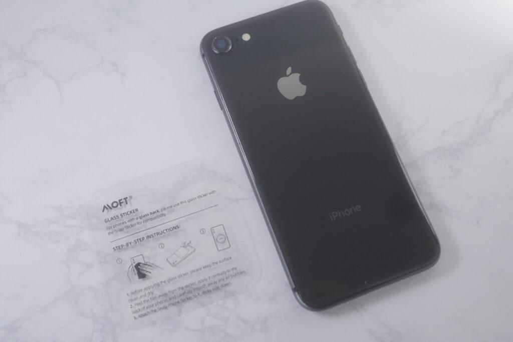 iPhone8とマグシール